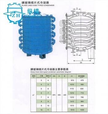 冷凝器参数